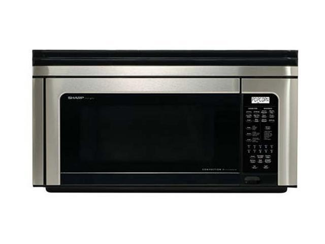 Sharp 850 Watts Microwave Oven R1880LSRT Sensor Cook Stainless Steel