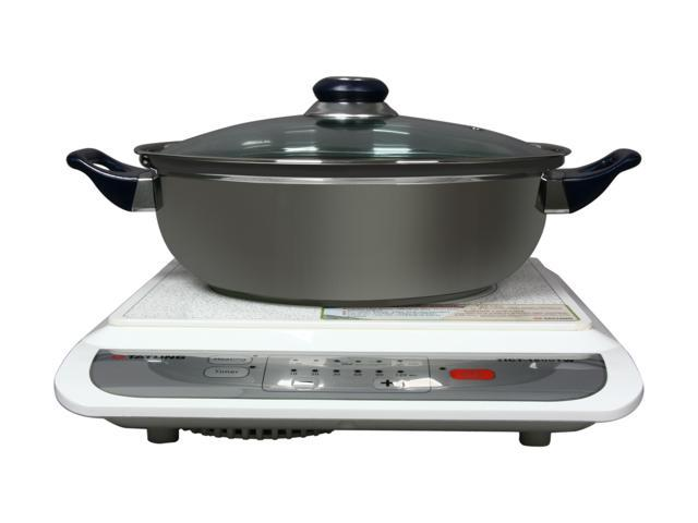 TATUNG TICT-1500TW Induction Cook Top, Stainless steel pot included