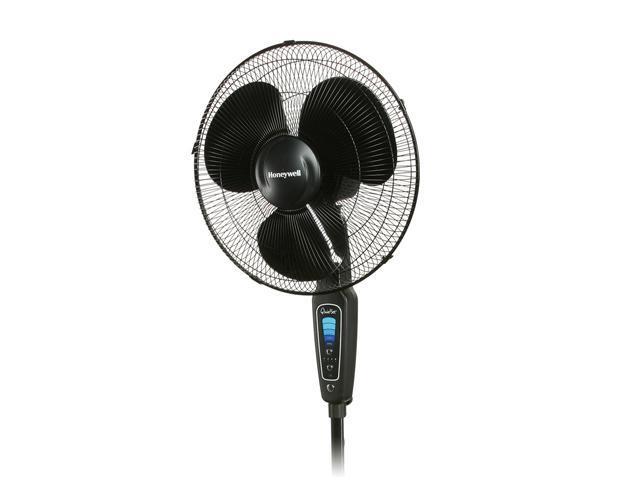 Honeywell Floor Fan : Honeywell hs quietset quot stand floor fan speed