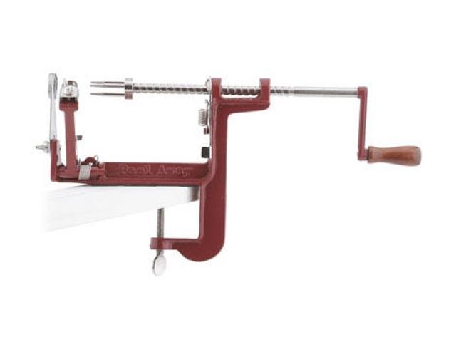 Back to Basics A501 Red Peel Away Apple Peeler with Clamp Base