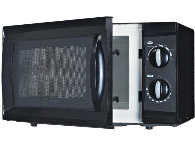 Westinghouse WCM660B , 0.6 Cubic Feet  600 Watts Counter Top Microwave Oven, Black