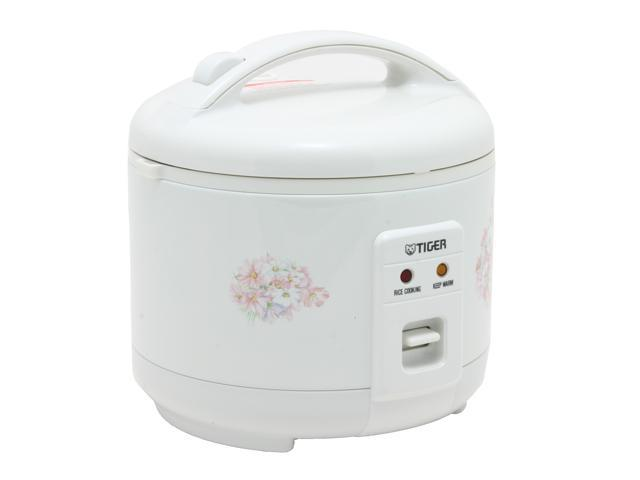 TIGER JNP-0550 White 3 cups Electronic Rice Cooker - warmer