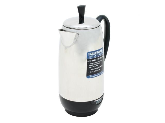 FARBERWARE FCP412 Stainless steel 12 Cups Percolator