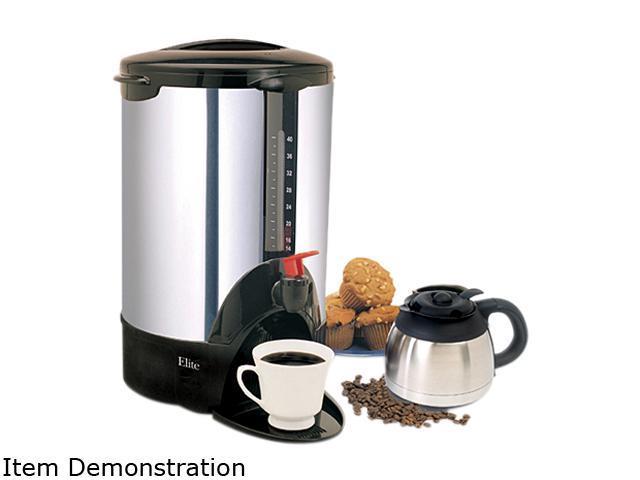 Maxi-Matic CCM-07X Chrome Elite Cuisine 40-Cup 1000 Watts Chrome Coffee Urn