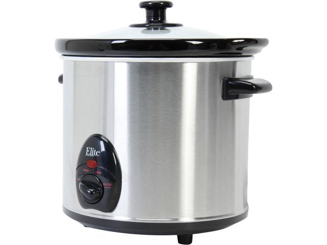 Maxi-Matic MST-450X Stainless Steel 3.5Qt. Slow Cooker