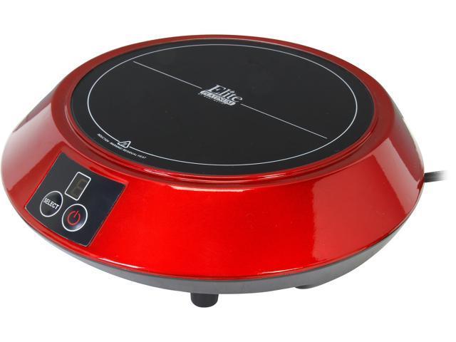 Elite EIND-88R Portable Induction Cooktop Burner