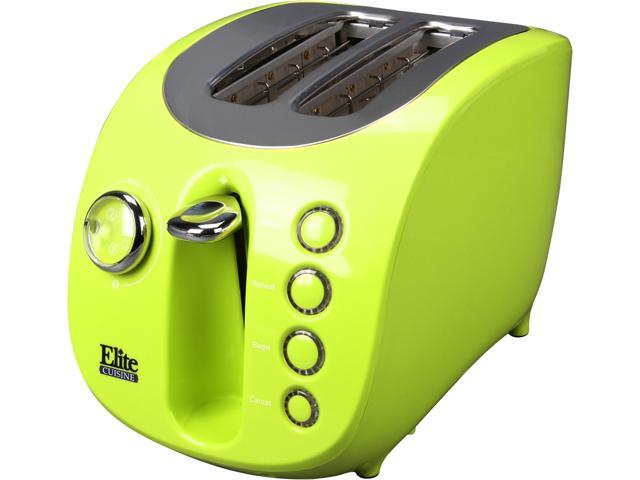 Maxi-Matic Elite ECT-231L Lime Green 2 Slice Electric Toaster