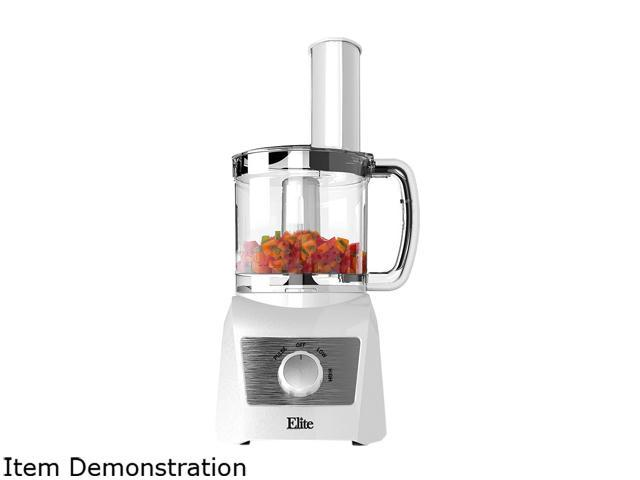 Elite EFP-7719W White Platinum 3 Cup Food Processor