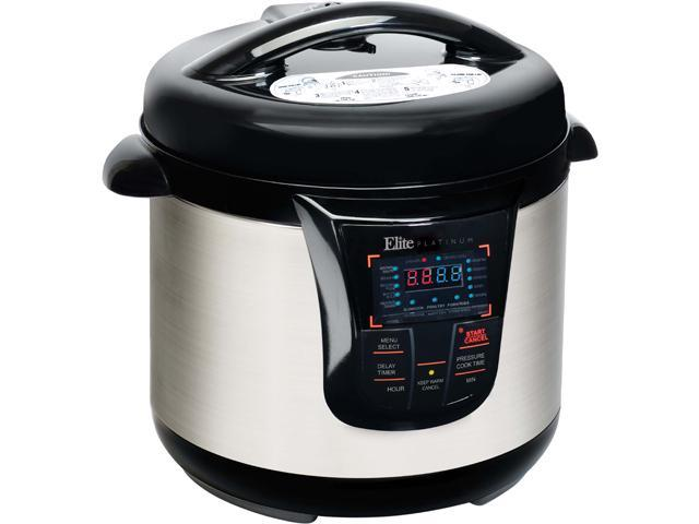 Elite EPC-808SS 8 Quart Electric Pressure Cooker (Stainless Steel)
