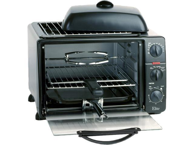 Maxi-Matic ERO2008SC Elite Platinum 6-Slice Toaster Oven with Rotisserie and Grill/Griddle Top and Convection