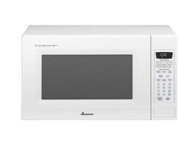 Amana 1100 Watts Countertop Microwave AMC2206BAW Sensor Cook White ...