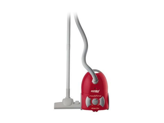 Eureka 900A ReadyForce Canister Vacuum, Red