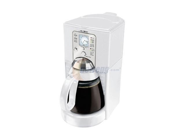 MR. COFFEE FTX40 White Coffee Maker - Newegg.com