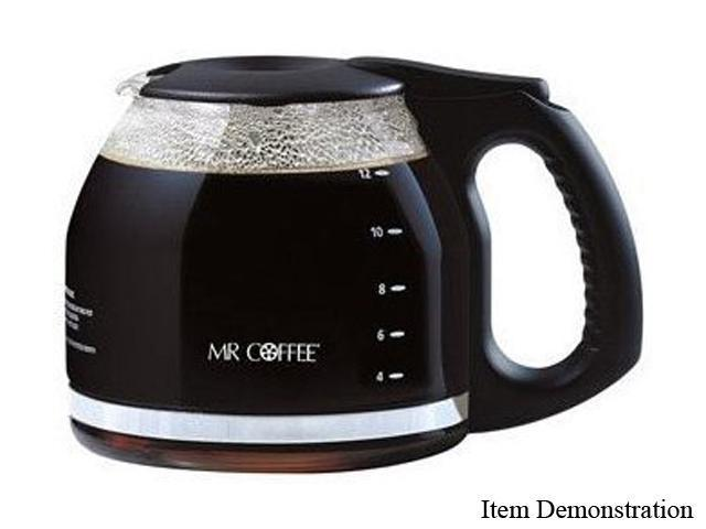 MR. COFFEE PLD12-1 Black Replacement Glass Carafe
