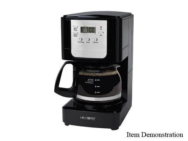 Coffee Maker 5 Cup Programmable : MR. COFFEE JWX3 Black 5-Cup Programmable Coffee Maker - Newegg.com
