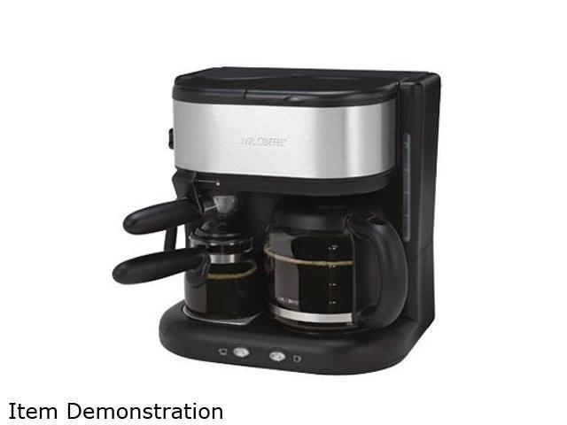 Mr Coffee Drip Coffee Maker Reviews : MR. COFFEE BVMC-ECM22 Steam Espresso Maker/Automatic Drip Coffee Maker Black - Newegg.com