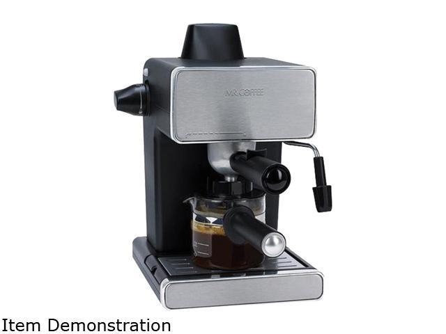 Refurbished: MR. COFFEE ECM-260 4-Cup Espresso Maker - Refurbished, 1-year warranty - Newegg.com