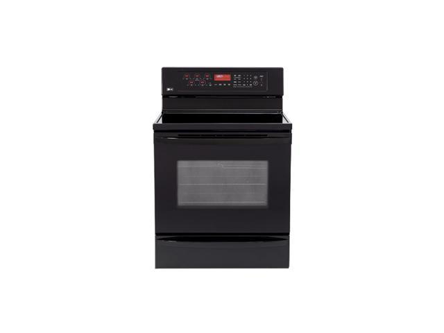 "LG 30"" Freestanding Electric Range LRE30757SB"