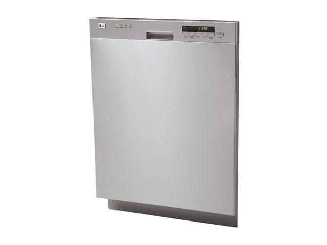 LG LDS4821ST Semi-Integrated Diswasher with Digital Status Display Stainless Steel