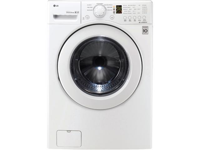 LG WM2140CW White Front-Loading Washer
