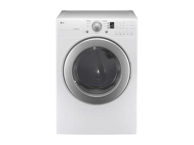 LG DLE2240W White Electric Dryer
