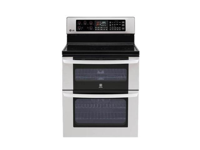 LG Double Oven Electric Range LDE3017ST Stainless Steel