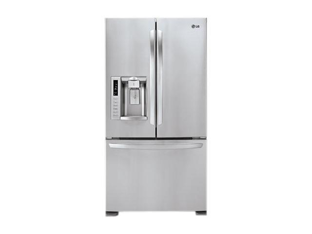 LG Electronics LFX28978ST Ultra-Large Capacity 3 Door French Door Refrigerator with Ice & Water Dispenser