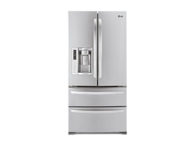 LG 24.7 cu. ft Ultra Capacity 4 Door French Door Refrigerator Stainless Steel LMX25988ST
