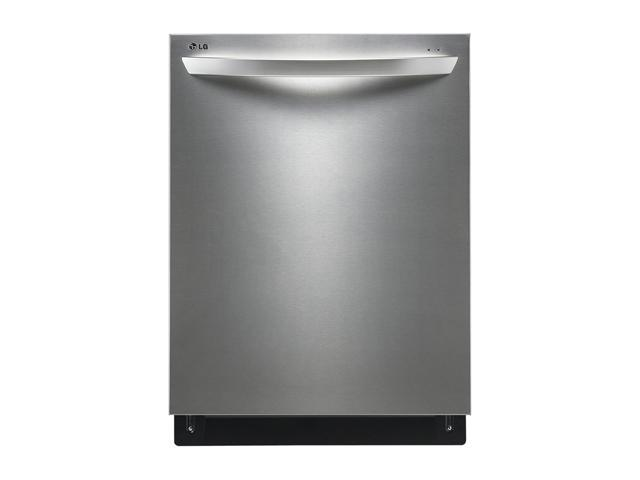LG LDF7561ST Fully Integrated Dishwasher w/ Height-Adjustable 3rd Rack Stainless Steel