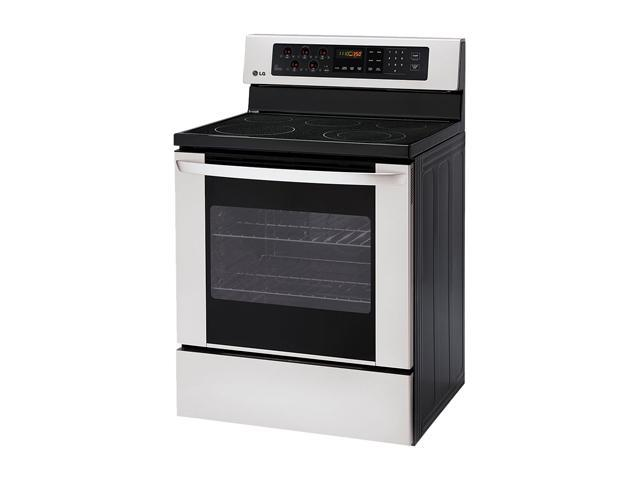 LG Freestanding Electric Oven with Storage Drawer LRE3012ST Stainless Steel