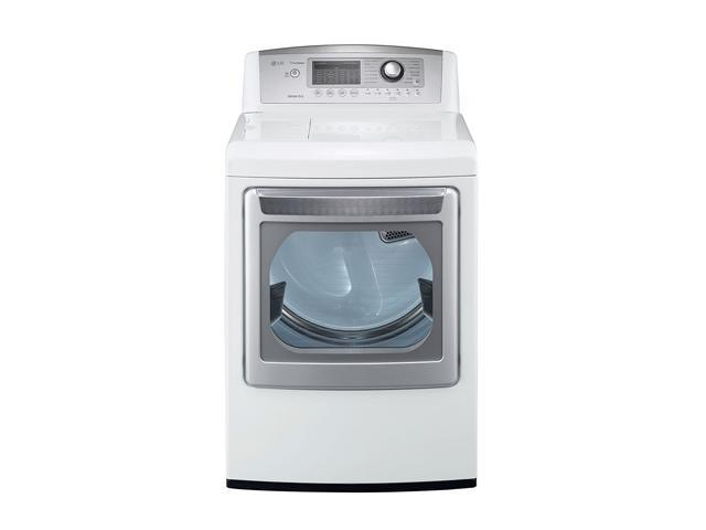 """LG DLEX5170W 27"""" Front-Load Electric Dryer with 7.3 cu. ft. Capacity, 14 Dry Cycles, 9 Options, Steam Functions, Sensor Dry, ..."""