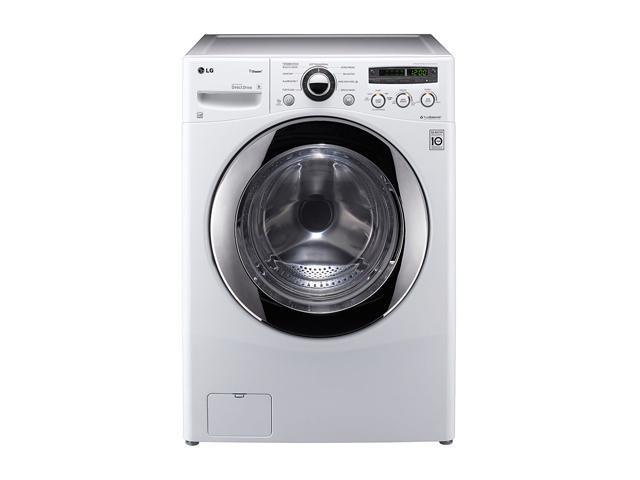 LG WM2650HWA Front-Loading Extra Large Capacity SteamWasher with ColdWash Technology (White)