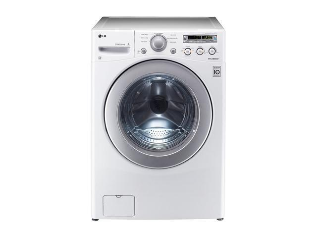 LG WM2250CW White 3.6 cu. ft. Front-Loading Extra Large Capacity Washer with ColdWash Technology