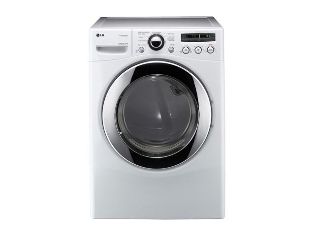 LG DLGX2651W 7.3 cu.ft. Ultra-Large Capacity Gas SteamDryer