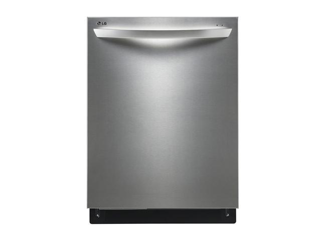 LG LDF8072ST Fully Integrated Dishwasher with TrueSteam Generator and flexible EasyRack Plus System Stainless Steel
