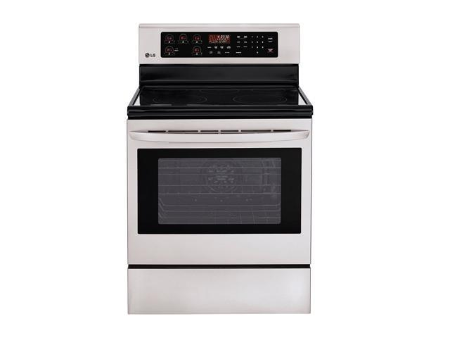 LG Large Capacity Freestanding Electric Oven LRE3023ST Stainless Steel