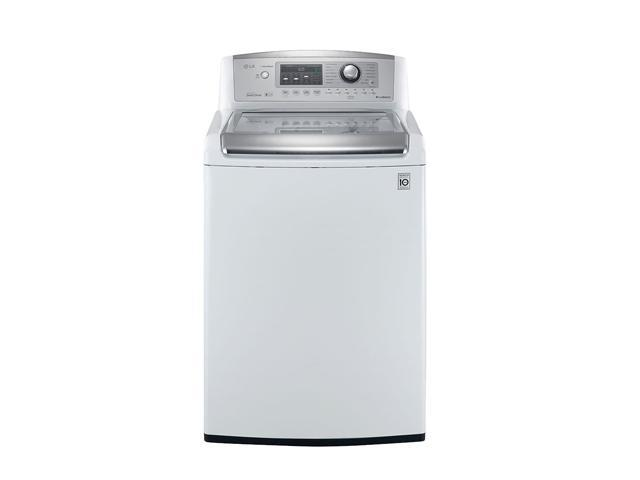 LG WT5170HW White 4.7 cu.ft. Top-Loading Ultra Large Capacity Wave Series Washer