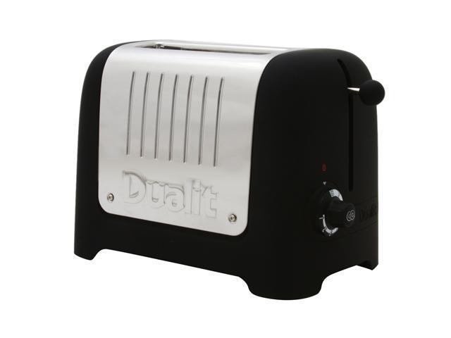 Dualit 25375 Black 2 Slice Bread Toaster