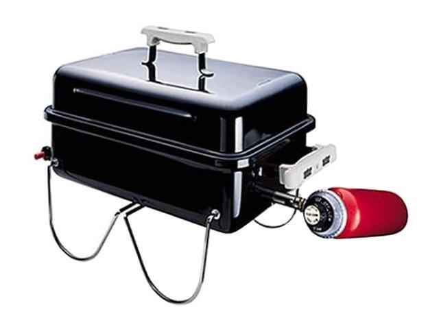 Weber Propane Gas Go-Anywhere Grill 1520 Black