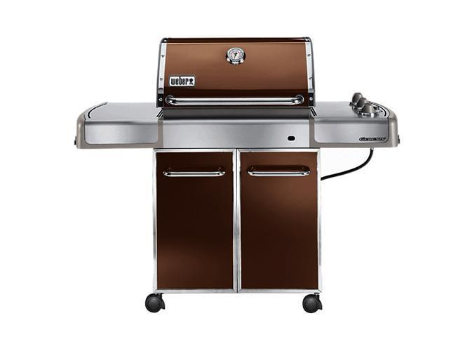 weber genesis ep 310 premium gas grill lp ss grates bars 3742301 copper. Black Bedroom Furniture Sets. Home Design Ideas