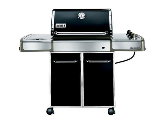 weber genesis ep 320 premium gas grill lp ss grates. Black Bedroom Furniture Sets. Home Design Ideas
