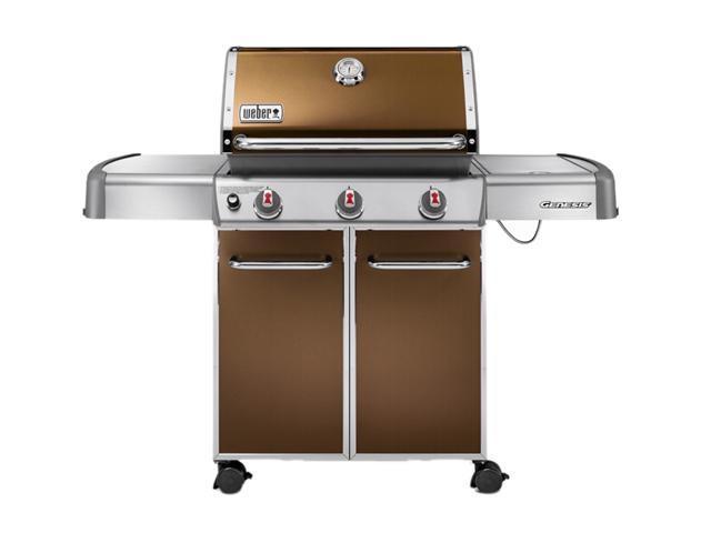 weber genesis e 320 liquid propane grill 6522001 copper. Black Bedroom Furniture Sets. Home Design Ideas