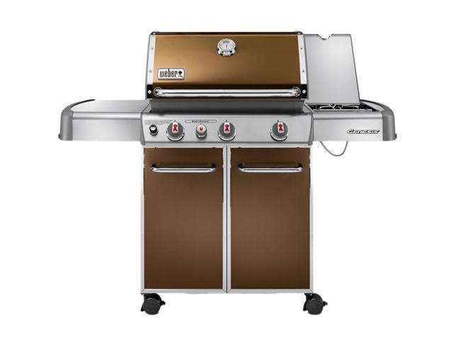 weber genesis e 330 liquid propane grill 6532001 copper. Black Bedroom Furniture Sets. Home Design Ideas