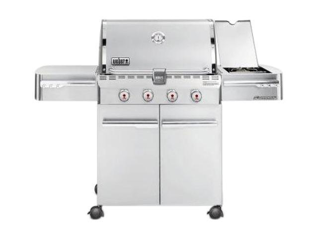 weber summit s 420 natural gas grill 7220001 stainless. Black Bedroom Furniture Sets. Home Design Ideas