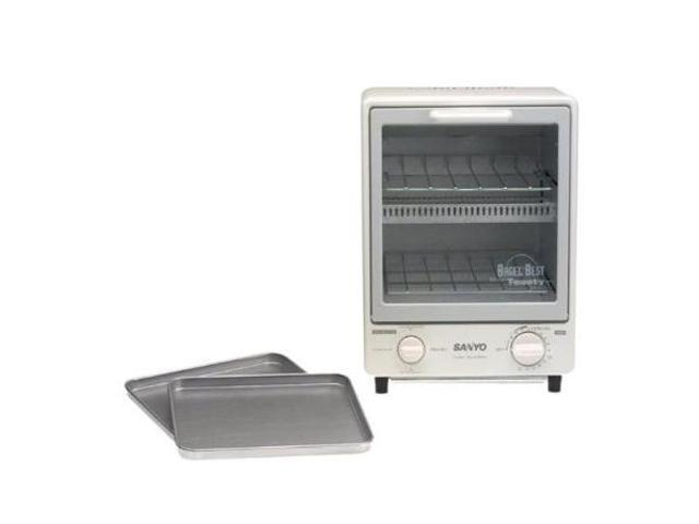 Space Saving Oven ~ Sanyo sk w white space saving two level super toasty oven