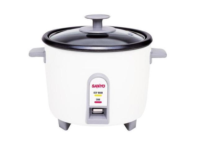 SANYO EC-503 White 3-Cup Rice Cooker