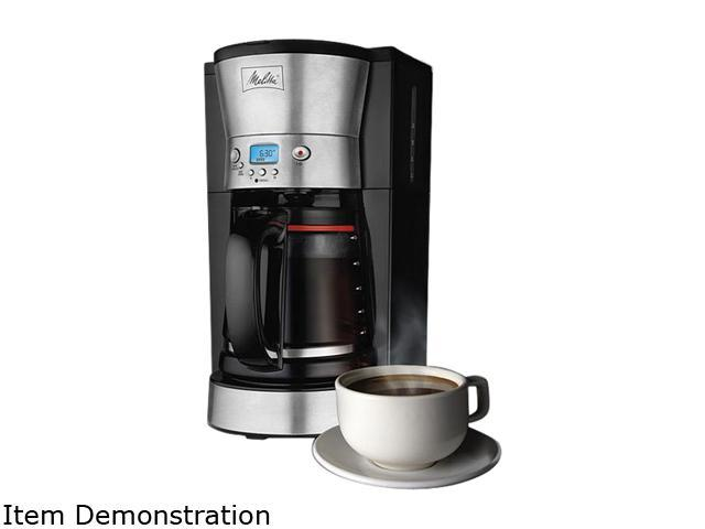 Hamilton Beach 46893 Black/Steel 12 cup Coffeemaker