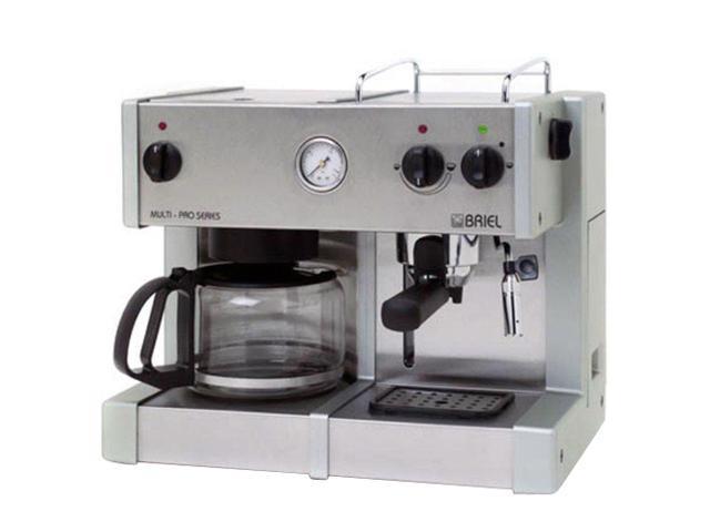 Prestige Coffee Maker Instructions : BRIEL ED171APG-TB MULTI-PRO PRESTIGE Espresso/cappuccino machine with built-in 10-cup drip ...