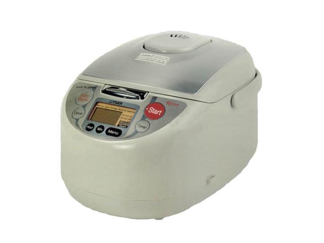 TIGER JAHT10U White 5 Cups (Uncooked)/10 Cups (Cooked) Rice Cooker and Warmer with 3-in-1 Functions