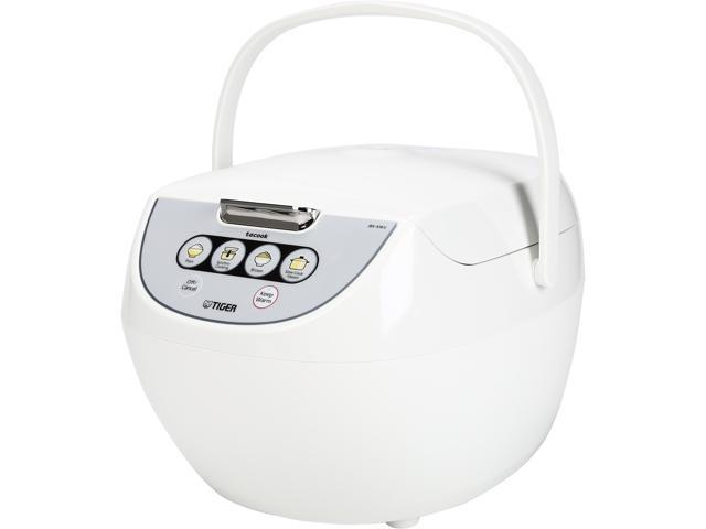 Tiger JBV-A18U Microcomputer Controlled 10 Cups(Uncooked), 20 Cups(Cooked)  Rice Cooker/Warmer, White
